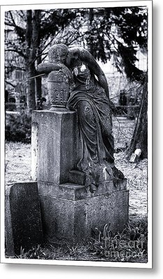 Flower For The Dead Metal Print by John Rizzuto