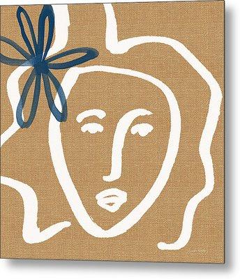 Flower Girl Metal Print by Linda Woods