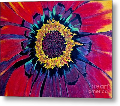 Flowerburst Metal Print by Rory Sagner