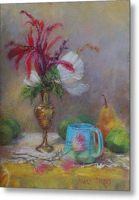 Flowers  Metal Print by Nancy Stutes