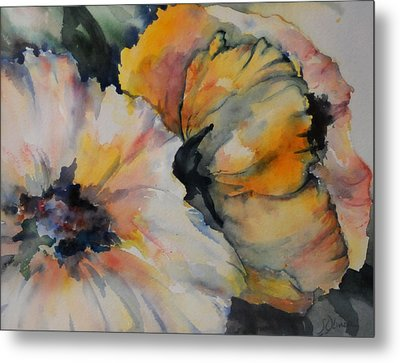 Fluffy And Free Metal Print by Shelley Olivier