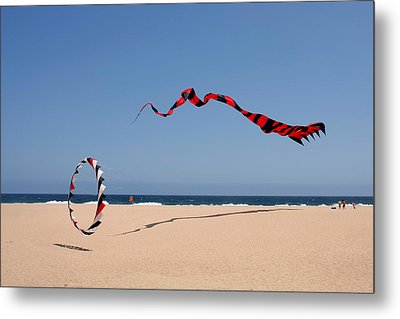 Fly A Kite - Old Hobby Reborn Metal Print by Christine Till