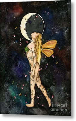 Fly By Night Metal Print by Nora Blansett