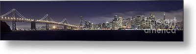 Fog City San Francisco Metal Print by Mike Reid