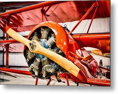 Fokker Dr.1 Metal Print by Inge Johnsson