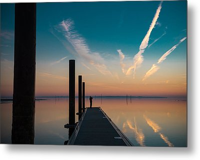 Metal Print featuring the photograph Follow Me by Thierry Bouriat