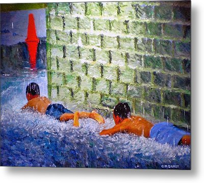 Follow The Leader Metal Print by Michael Durst
