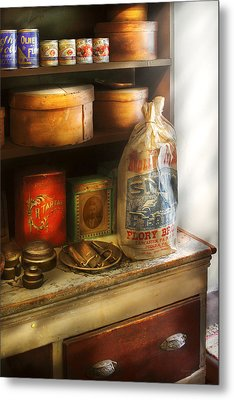 Food - Kitchen Ingredients Metal Print by Mike Savad