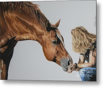 For Amy Metal Print by Joni Beinborn