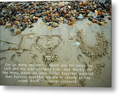For Jay Metal Print by Tammy Collins