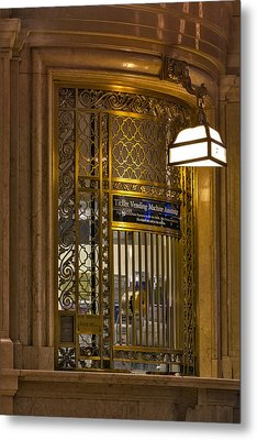 For Service Ring Bell Gct Metal Print by Susan Candelario