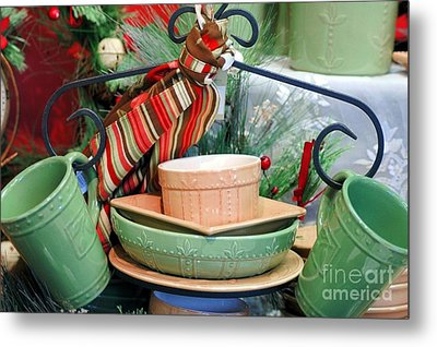 For The Kitchen Metal Print by Kathleen Struckle
