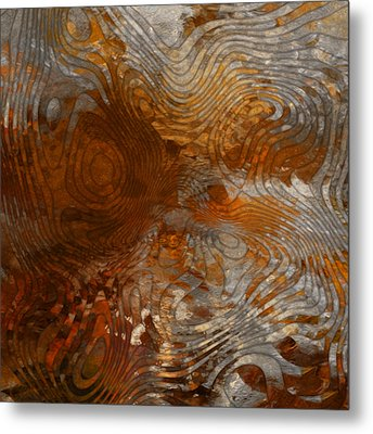 For The Love Of Rust Metal Print by Jack Zulli