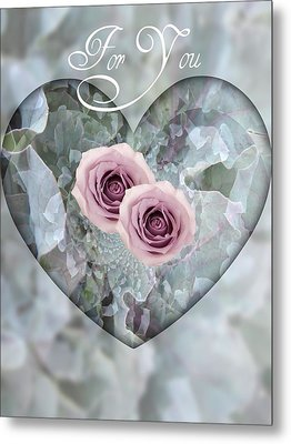 For You Metal Print by Shirley Sirois