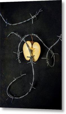 Forbidden Fruit Metal Print by Joana Kruse