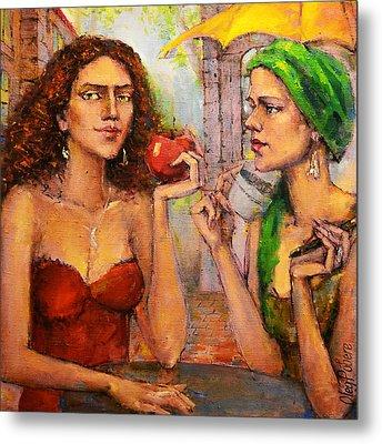 Forbidden Fruit Metal Print by Oleg  Poberezhnyi