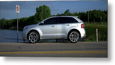 Ford Edge Sport Metal Print by Rob Andrus