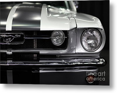Ford Mustang Fastback - 5d20342 Metal Print by Wingsdomain Art and Photography