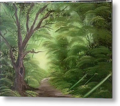 Forest Edge Metal Print by Lynn Lawrence