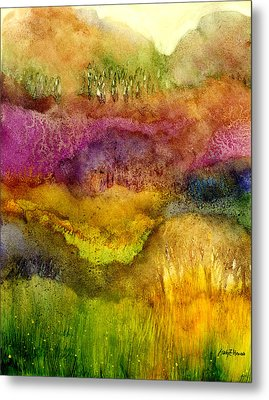 Forest Metal Print by Hailey E Herrera