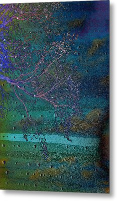 Forgetting Metal Print by Jan Amiss Photography