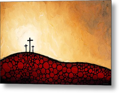 Forgiven - Christian Art By Sharon Cummings Metal Print by Sharon Cummings