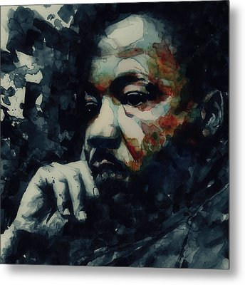 Forgiveness Is Not An Occasional Act It Is A Constant Attitude Metal Print by Paul Lovering