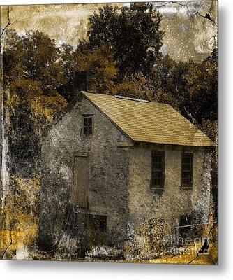 Forgotten Barn Metal Print by Marcia Lee Jones