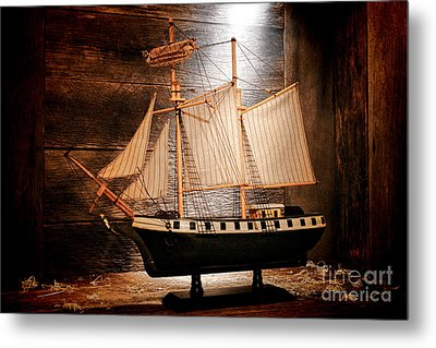 Forgotten Toy Metal Print by Olivier Le Queinec