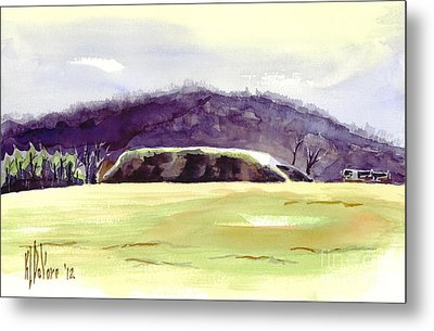 Fort Davidson Battlefield Mid Day Metal Print by Kip DeVore