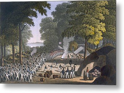 Fort Maxwell, 1820 Metal Print by English School