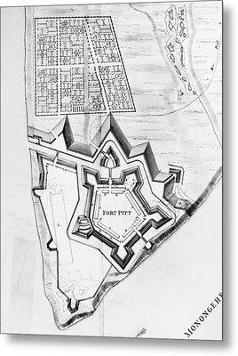 Fort Pitt, 1761 Metal Print by Granger