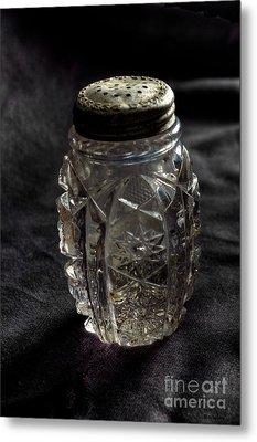 Found  Salt Shaker Metal Print by   Joe Beasley