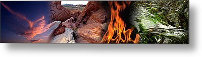 Four Elements Metal Print by Panoramic Images