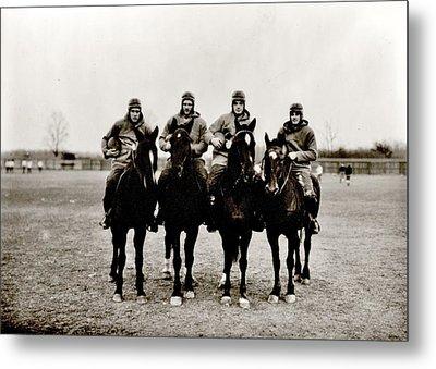 Four Horsemen Metal Print by Benjamin Yeager