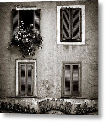 Four Windows Metal Print by Dave Bowman