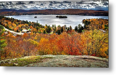 Fourth Lake From Above Metal Print by David Patterson