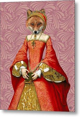 Fox Queen Metal Print by Kelly McLaughlan