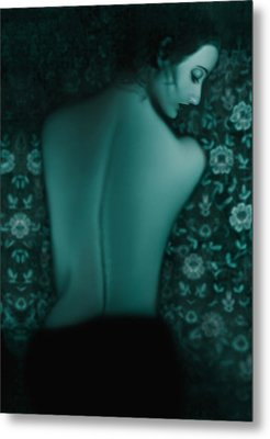 Fragility - Self Portrait Metal Print by Jaeda DeWalt
