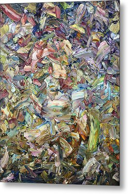 Roadside Fragmentation Metal Print by James W Johnson