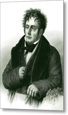 Francois De Chateaubriand Metal Print by Collection Abecasis