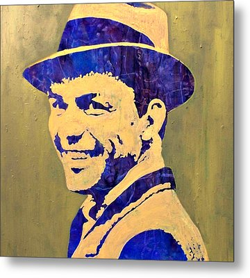 Metal Print featuring the painting Frank by Pasquale Di maso