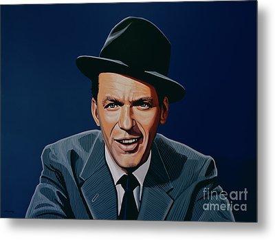 Frank Sinatra Metal Print by Paul Meijering