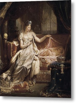 Franque, Joseph 1774-1833. Marie-louise Metal Print by Everett
