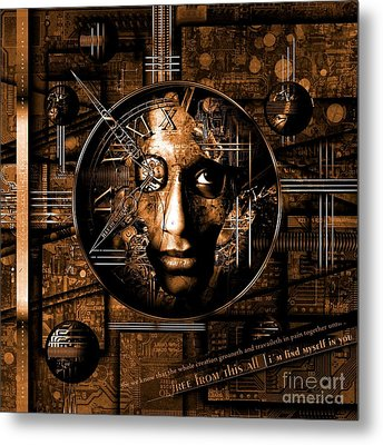 Franziskus Metal Print by Franziskus Pfleghart