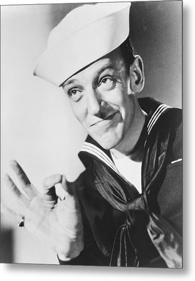 Fred Astaire In Follow The Fleet  Metal Print by Silver Screen