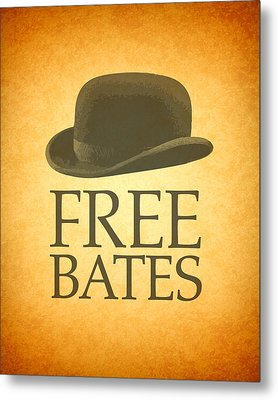 Free Bates Metal Print by Design Turnpike