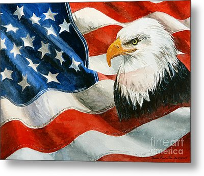 Freedom Metal Print by Andrew Read
