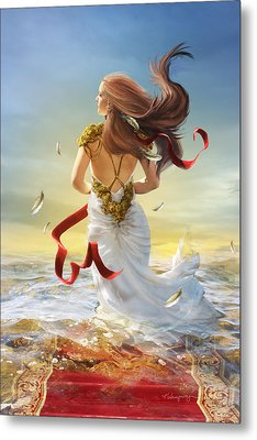 Freedom Metal Print by Cassiopeia Art