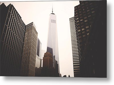 Freedom Tower  Metal Print by Amber Fite